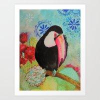 pico roso tucan Art Print