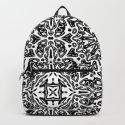 Oriental Pattern black and white by lebensartdesign