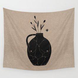 Body Vase Wall Tapestry