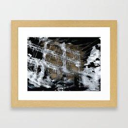 Black Clouds Framed Art Print