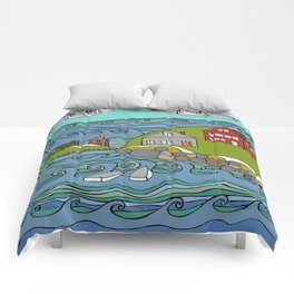 View from Casco Bay Comforters