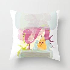 Runtime Terror  Throw Pillow