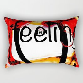 Brit5 intense colour Rectangular Pillow