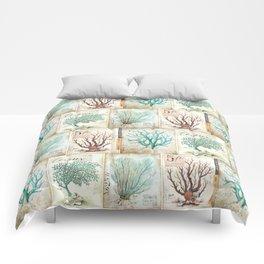 Blue Coral No. 2 Comforters