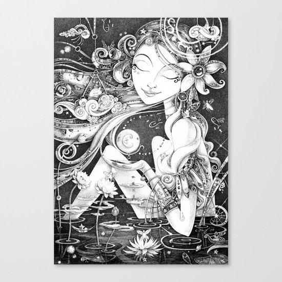 Ma Bella Luna Canvas Print