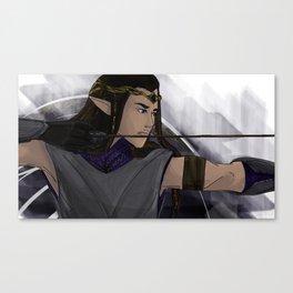 Fingon the Valiant - Silmarillion Fanart Canvas Print