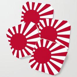 Japanese Flag Coaster