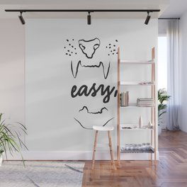 Easy Tiger Wall Mural
