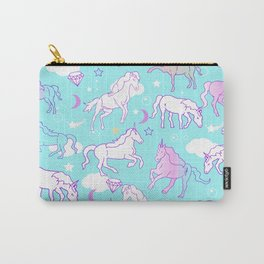 Unicorns In The Sky Carry-All Pouch