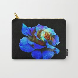 Sapphire Heaven Rose Carry-All Pouch