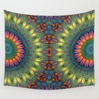 trippy Wall Tapestries featuring Trippy by Lyle Hatch