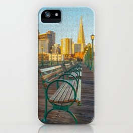 Pier 7- painting iPhone Case