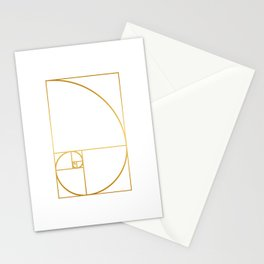 That's Golden I Stationery Cards