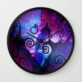 Midnight In My Mind Wall Clock