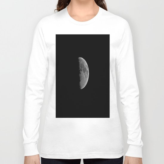 Just Half Long Sleeve T-shirt