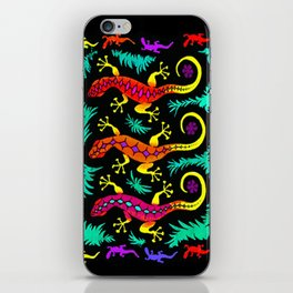 Tropical Geckos iPhone Skin
