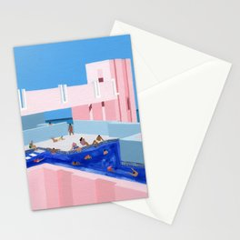 Spain Pool Stationery Cards