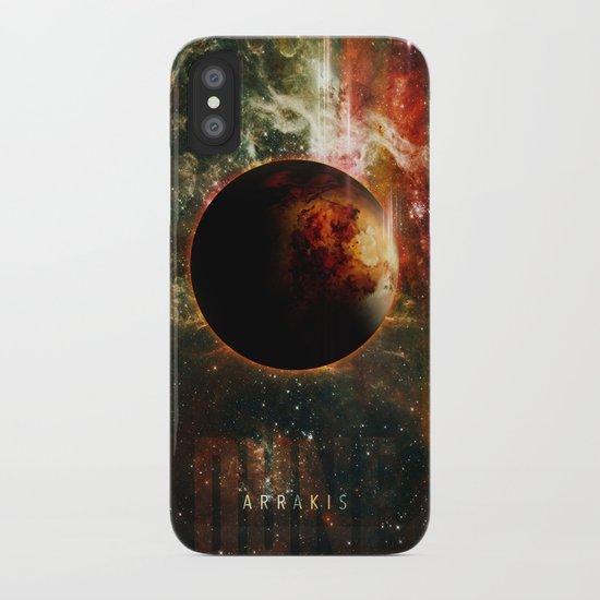 DUNE Planet Arrakis Poster iPhone Case