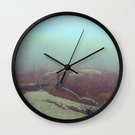 HIGHLAND FOG Wall Clock