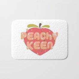 Peachy Keen Bath Mat