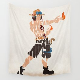 The Fire Fist Wall Tapestry