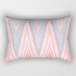 Agate Chevron Rectangular Pillow