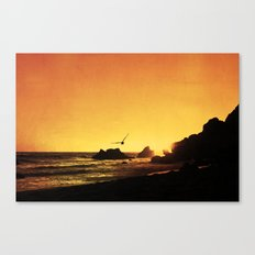 Lingering Canvas Print
