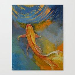 Butterfly Koi Canvas Print