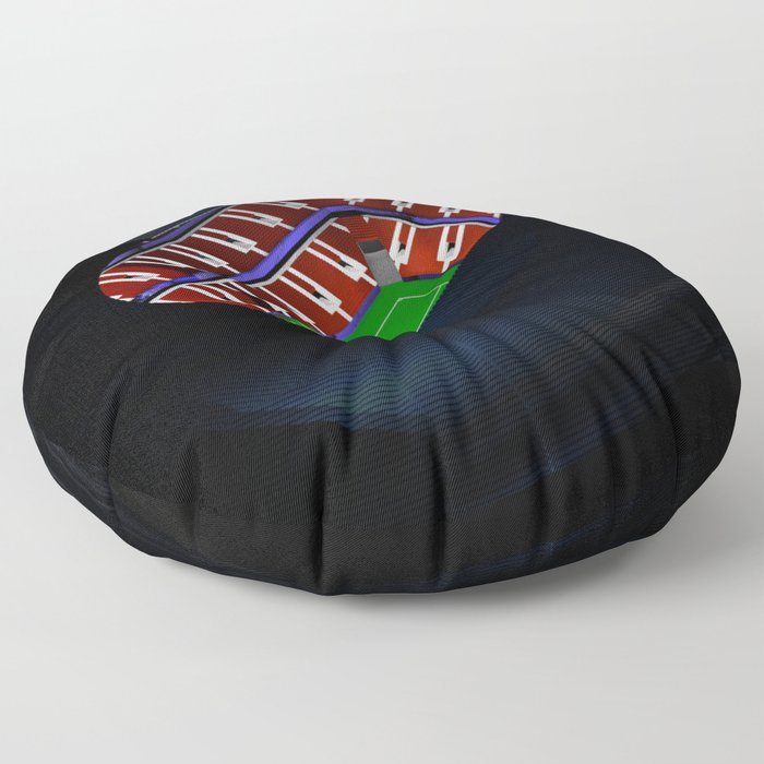 The Fontainebleau Floor Pillow