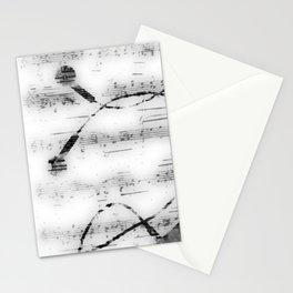 Music, music, music Stationery Cards