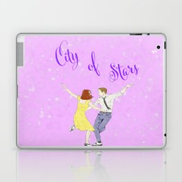 La La Land - Watercolor Laptop & iPad Skin