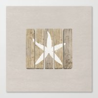 starfish Canvas Prints featuring Starfish by Alyn Spiller