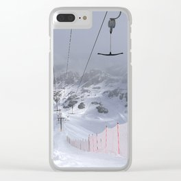 Empty T-lifts Clear iPhone Case