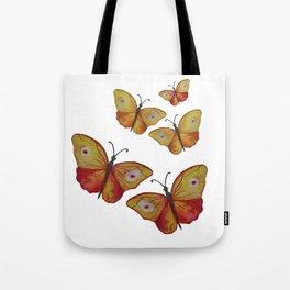 Summer Butterflies Tote Bag