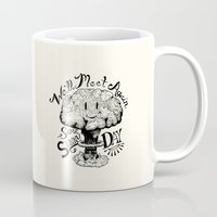 kubrick Mugs featuring We'll Meet Again Some Sunny Day by Andrew Henry
