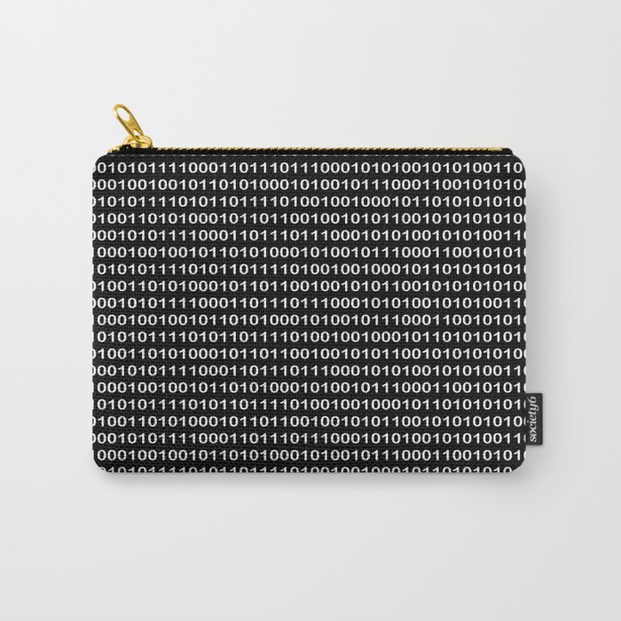 Binary Code in DOS Carry-All Pouch