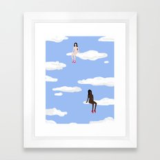 All Strippers Go To Heaven Framed Art Print