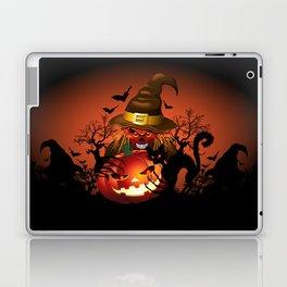 Skull Witch Creepy Halloween Laptop & iPad Skin