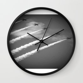 flight of angels Wall Clock