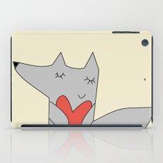Fox in love iPad Case