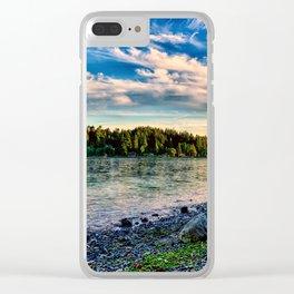 Manitou Beach Bainbrige Island Clear iPhone Case