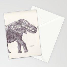 BALLPEN ELEPHANT 14 Stationery Cards