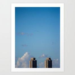 Redfern Towers Art Print