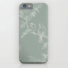 Song Birds on a Wire  iPhone Case