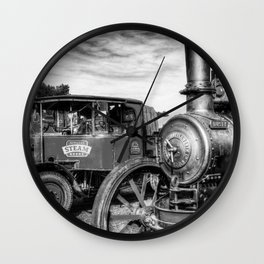Steam Lorry And Traction Engine Wall Clock