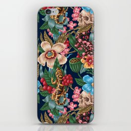 Lizzards and Skulls iPhone Skin