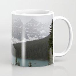 Foggy Moraine Lake Coffee Mug