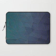 Elegant Low Poly Web Laptop Sleeve
