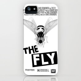 the fly remixed iPhone Case