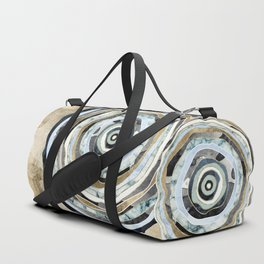 Wood Slice Abstract Duffle Bag